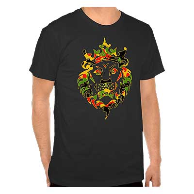 Rasta Camo Lion Dark